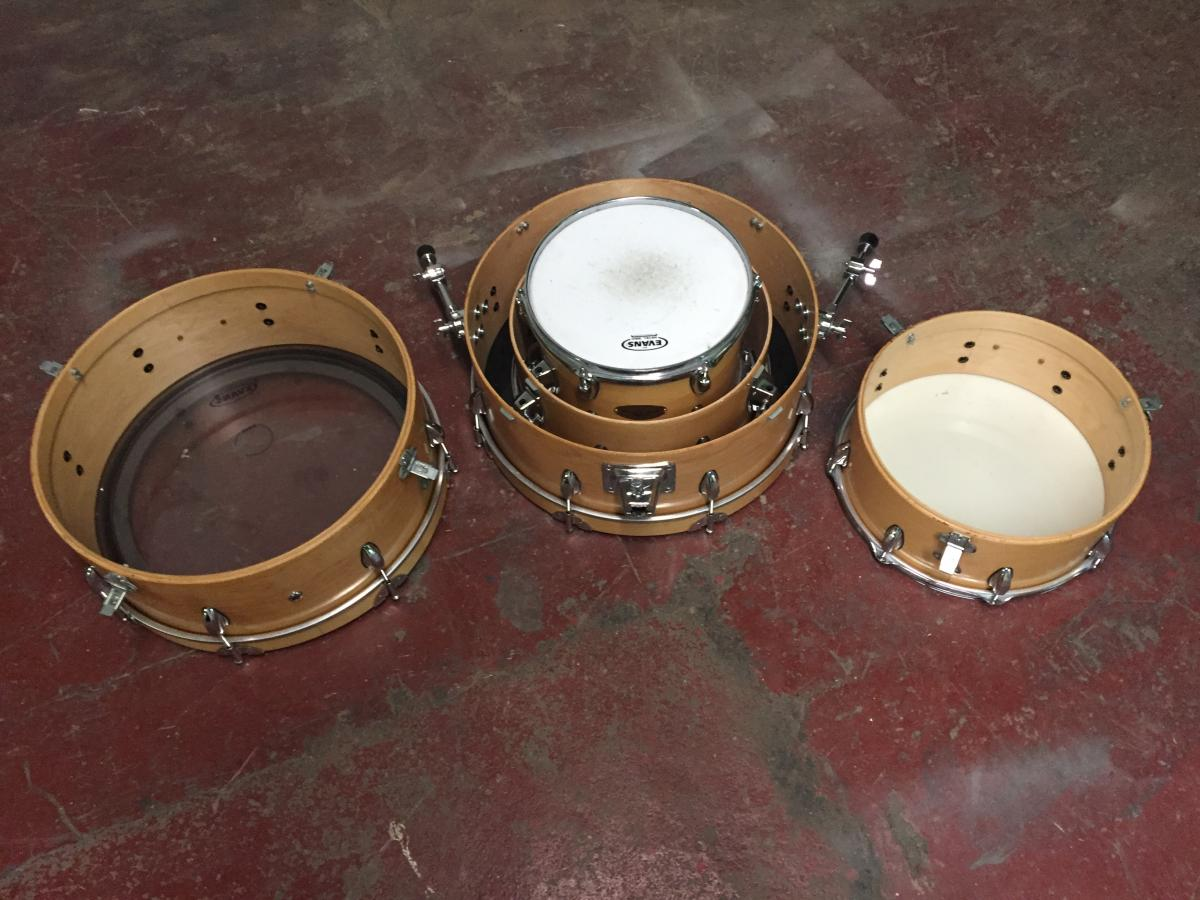 Drummer's World 4 Piece Nesting Set