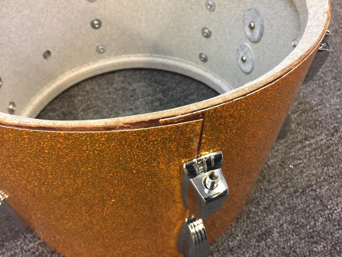 Ludwig Gold Sparkle Hollywood