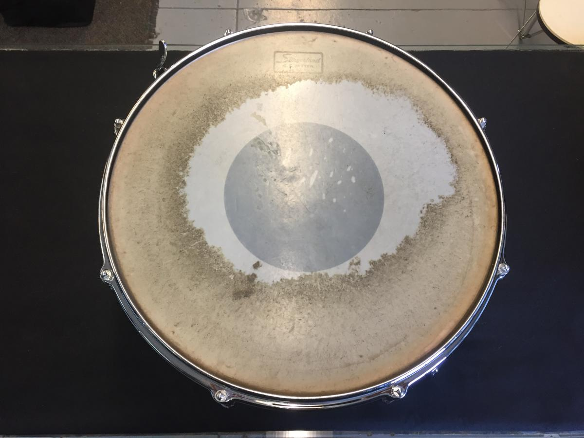 Slingerland Vintage 60s 14 x 5 Radio King Single ply solid maple shell CLEAN!