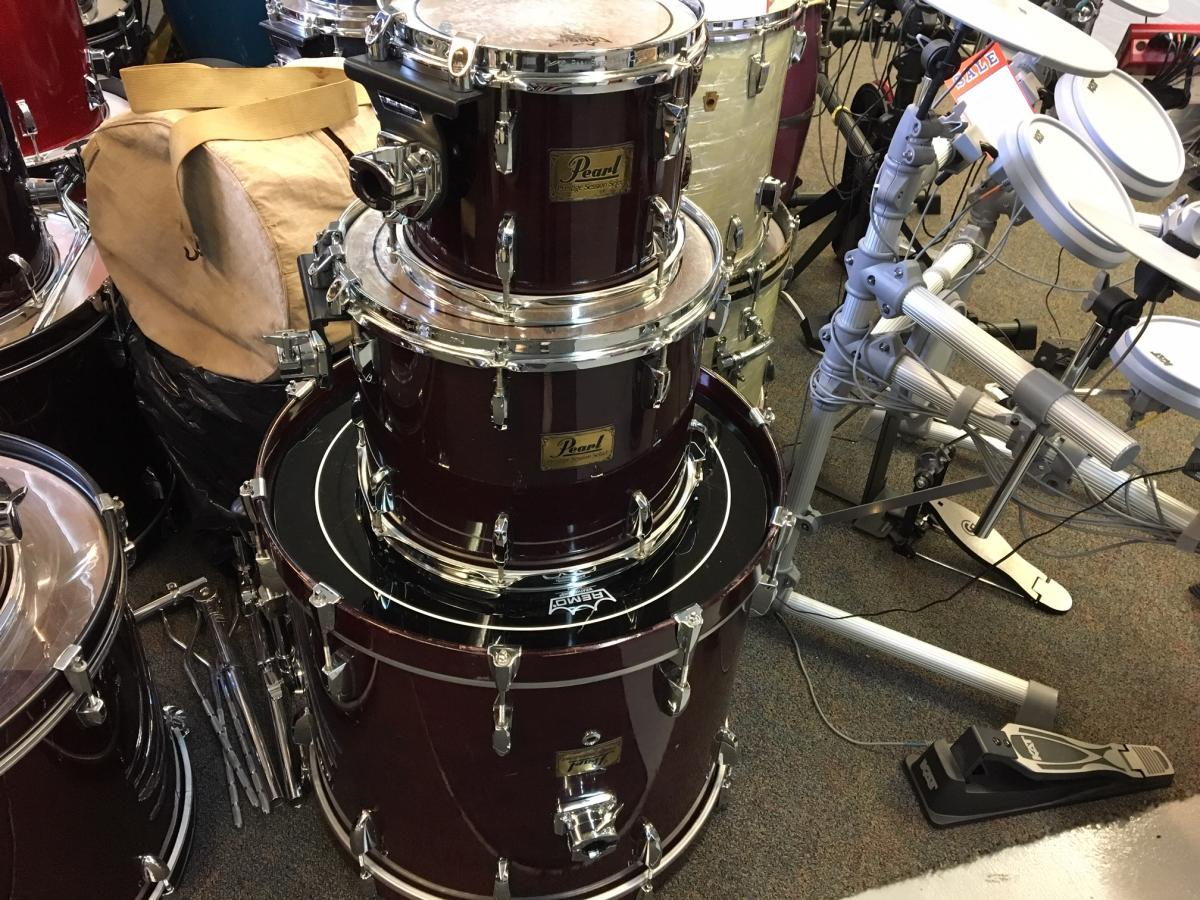 Pearl Session Series 3-Piece Wine Red