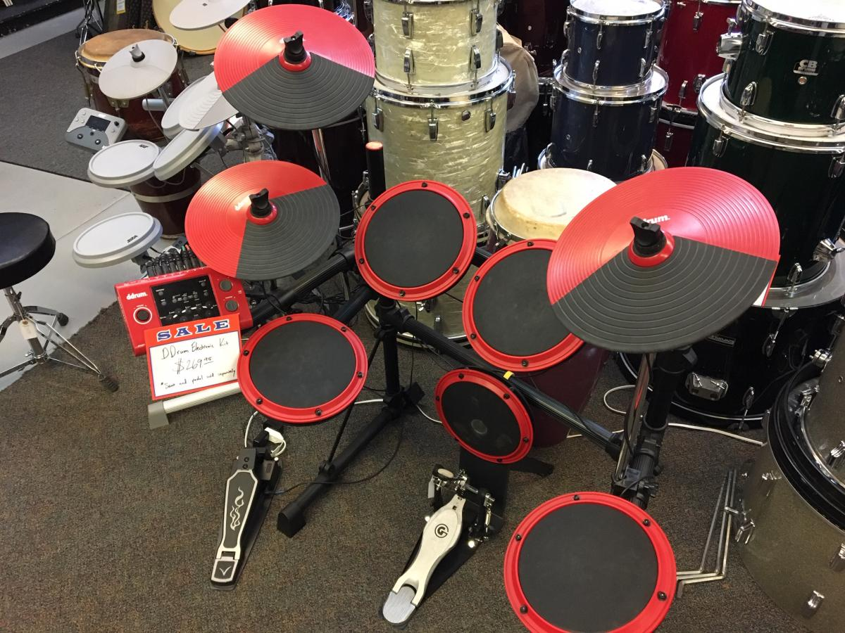 USED ddrum D1 Electronic Drum Kit