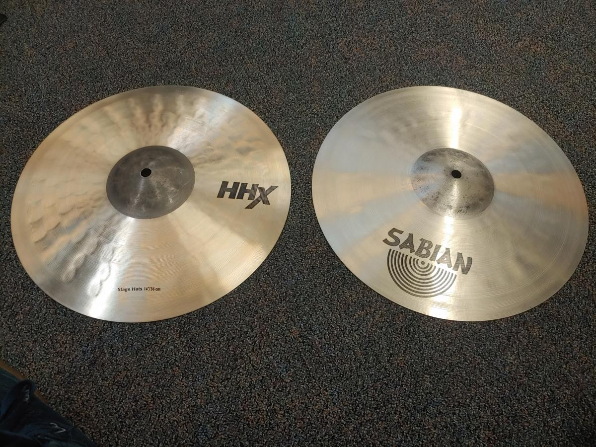 Sabian HHX 14in Stage HiHat Cymbal Pair