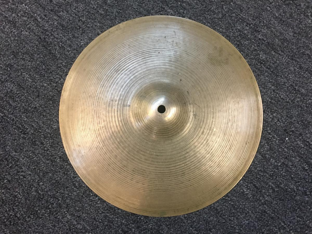 Zildjian Vintage 70s 14in Hihat Bottom Hollow Logo 1316 grams
