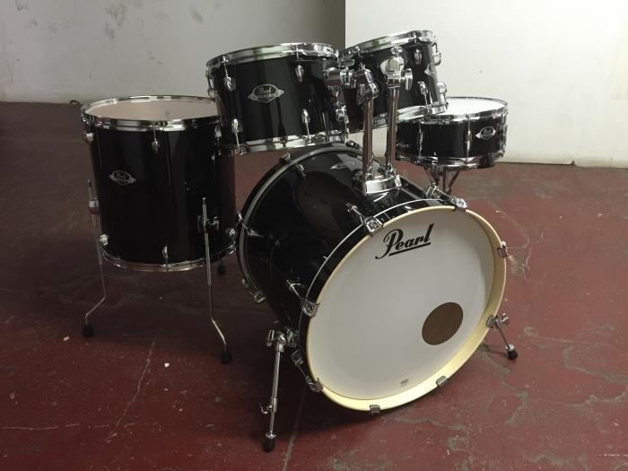 Export Black Wrap Drum Kit 5-Piece Shell Pack