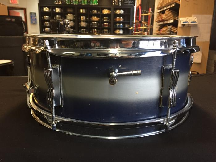 """1966 Ludwig 14x5"""" Pioneer - Blue and Silver Duco"""