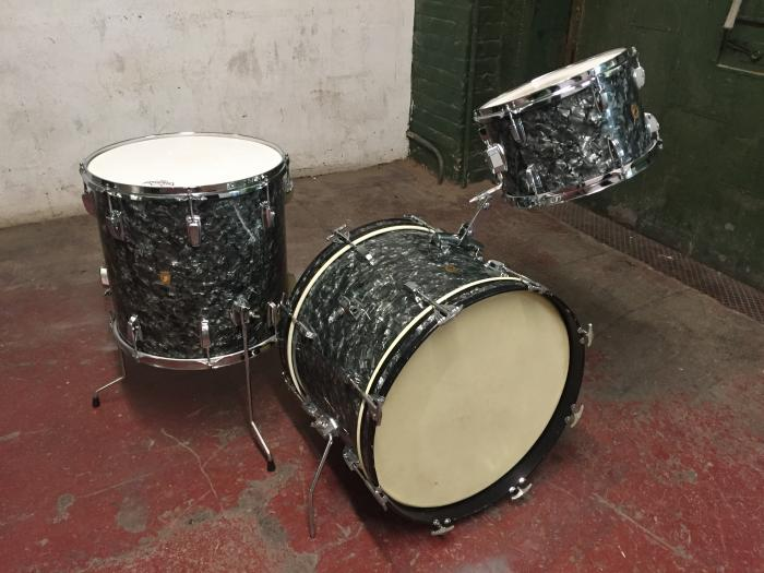 Ludwig 20/12/16 Black Diamond Pearl BDP Kit