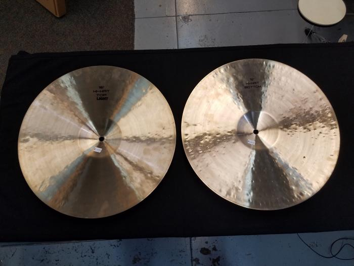 "Emperor 16"" Natural Light Hi Hat Pair"