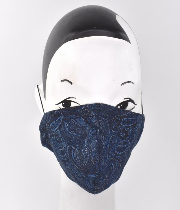 A unisex Face mask in Paisley Print  - AN AWESOME FACE HAT!