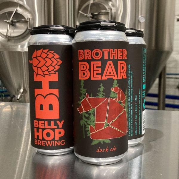 4-pack : Brother Bear Black Ale