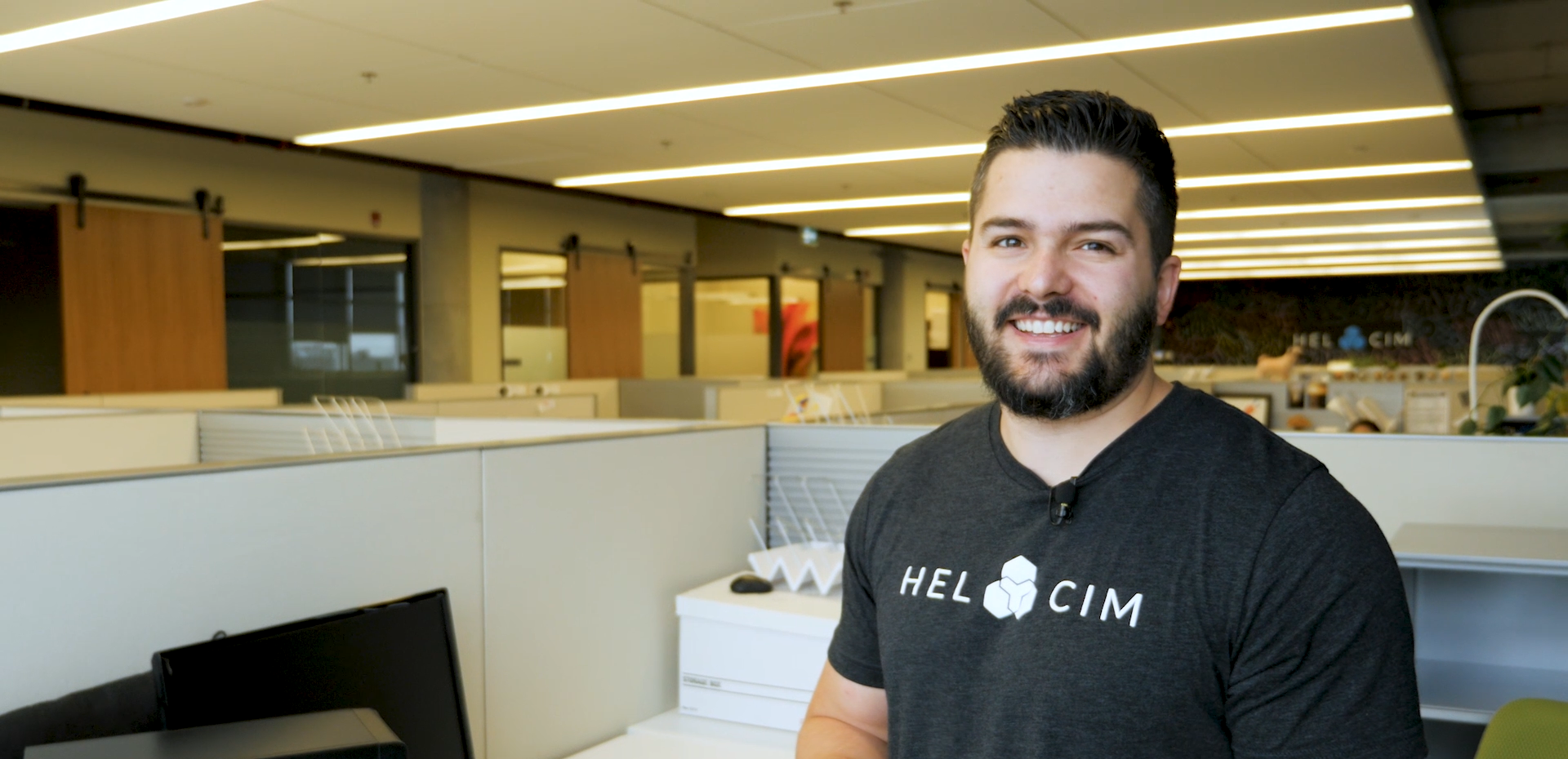 CEO Nic Beique at Helcim