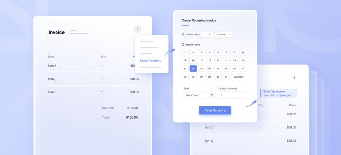 A Simpler Way to Automate Your Payments | Recurring Invoicing